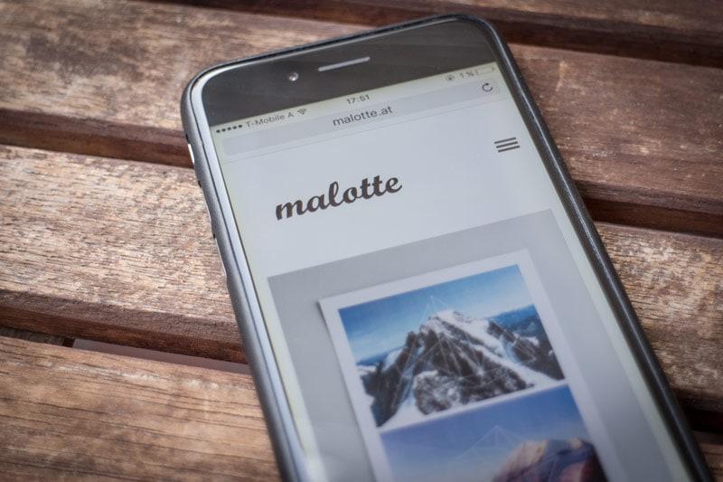 Website Screen malotte 03 - malotte.at
