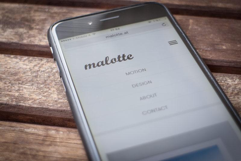 Website Screen malotte 04 - malotte.at