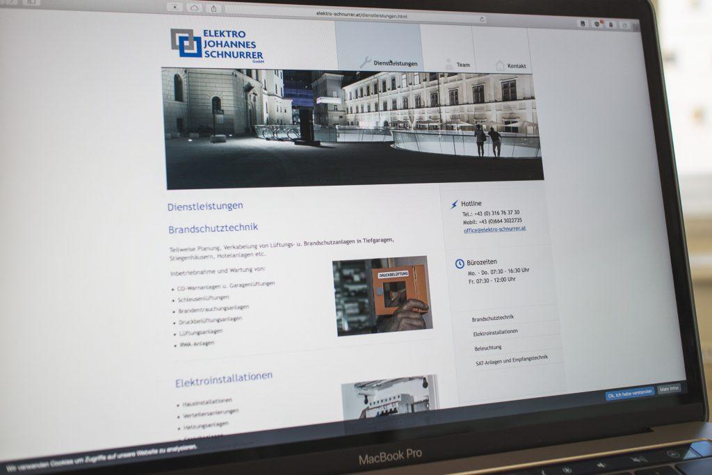 Website elektro-schnurrer.at