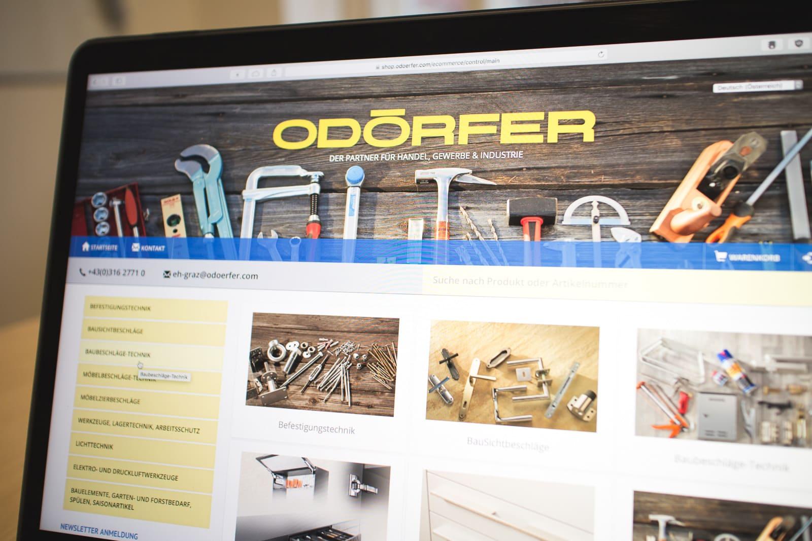 Apache OFBiz Webshop Theme für Odörfer Eisenhof Gmbh