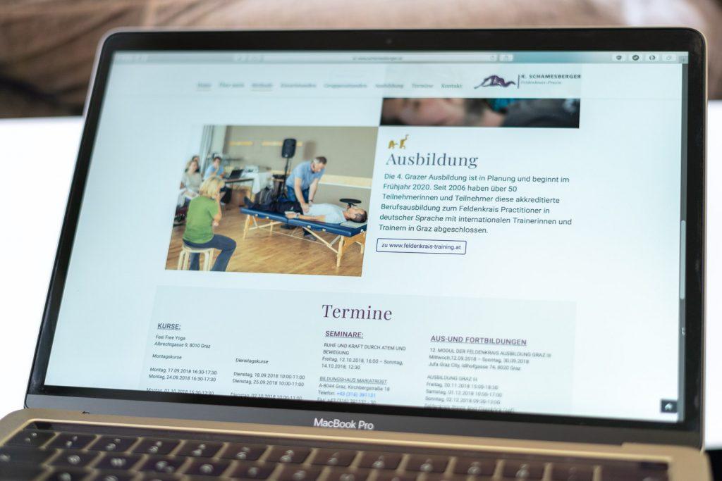 Wordpress Website schamesberger.at