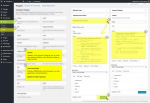 PHONGJIM - Anleitung - WP Widgets - Widget Inhalt bearbeiten