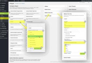 PHONGJIM - Anleitung - WP Widgets - Widget einfügen und Sichtbarkeit steuern