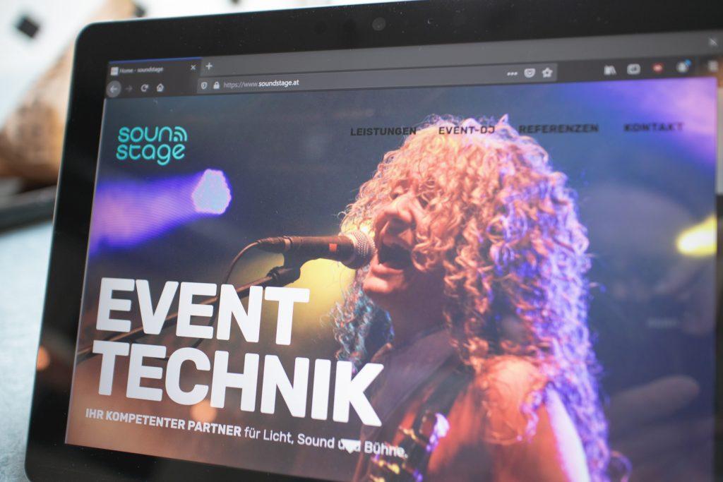 phongjim webdesign portfolio screenfoto soundstage at 001 1024x683 - soundstage.at